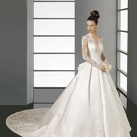 Fabulous Sweetheart Floor-Length Cathedral Train 2012 New Style - Basadress.com