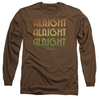 DAZED AND CONFUSED/ALRIGHT Z-L/S ADULT 18/1-COFFEE-XL