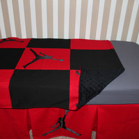 Jordan Theme 5 Piece Crib Set