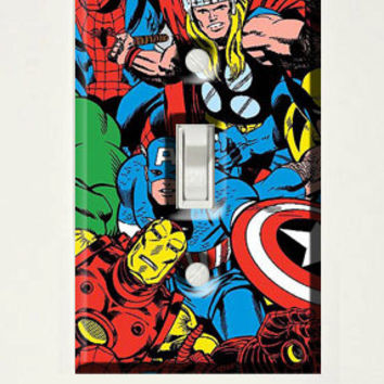Comics light switch cover