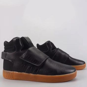 Adidas Tubular Invader Strap Fashion Casual High-Top Old Skool Shoes-7