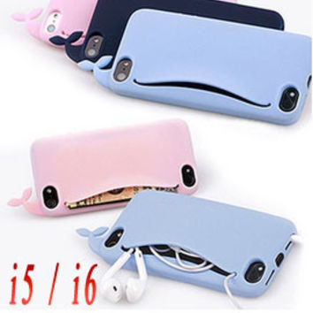 Whale Pocket Case for iPhone 5 5s