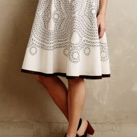 Bellflower Skirt by Ranna Gill Neutral Motif
