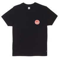 HUF - BOTTLE CAP POCKET TEE // BLACK