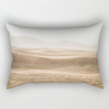 Windy desert Rectangular Pillow by ARTPICS