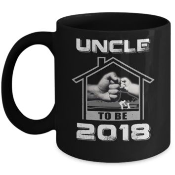 Uncle To Be 2018 New Baby Mug