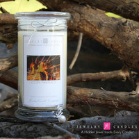 Cozy Fireplace Jewelry Candles