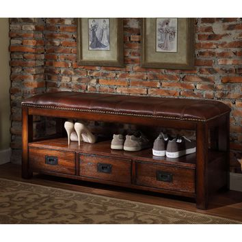 All Things Cedar Entryway Storage Bench