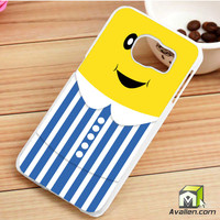 Cartoon B1B2 Banana Samsung Galaxy S6 Edge Case by Avallen