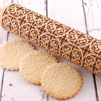 ARABESQUE - embossing rolling pin