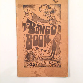 The Bongo Book by Ali Bongo (William Wallace), Magic Tricks, RARE