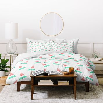 Hello Twiggs Summer Watermelon Duvet Cover