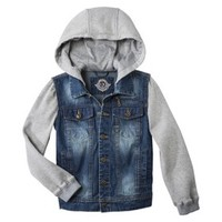 Urban Republic Boys' Hooded Jean Jacket