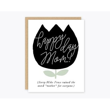 Mother Pence Greeting Card