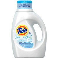 Tide Free and Gentle Liquid Laundry Detergent, (Choose Your Size) - Walmart.com