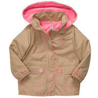 Hooded Lightweight Khaki Jacket