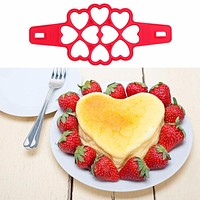 2017 4/7/10 Holes Non Stick Pancake Egg Ring Maker Silicone Egg Cake Mold Egg Cooker Pan Flip Eggs Mold Kitchen Baking Tools