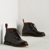 Best-Supporting Lacquer Bootie | Mod Retro Vintage Boots | ModCloth.com