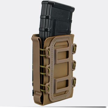 TMC 5.56mm 7.62mm Molle Pistol Mag Tactical Magazine Pouch Holster Fastmag Hard shell 2777