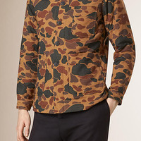 Camouflage Print Cotton Jacket