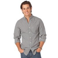 Chaps Summit Lodge Classic-Fit Twill Plaid Casual Button-Down Shirt - Big & Tall