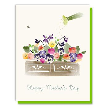 Mother's Day Flower Box Card