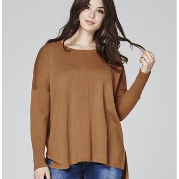 Toffee Boxy Sweater