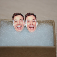 Jimmy Fallon Post Stud Earrings Celebrity Jewelry