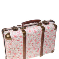 Sass & Belle Vintage Rose Floral Suitcase - decorative accessories - Home, Lighting & Furniture