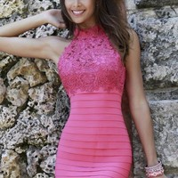 2014 Sherri Hill Short Bandage Homecoming Dress 32048
