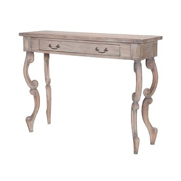 Carved Scroll Entry Table