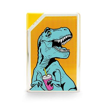 T-Rex Water Bottle in Multicolor