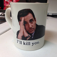 "Custom ""The Office"" mugs & glassware"