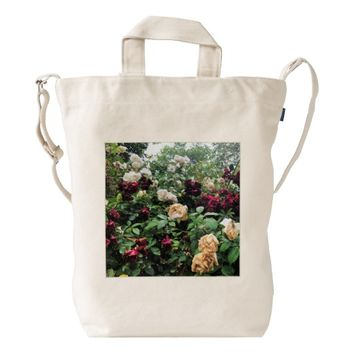 Rose Bush Duck Bag