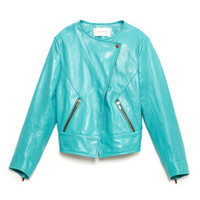 Cuir Jacket by Cédric Charlier for Preorder on Moda Operandi