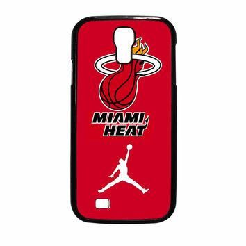 Miami Heat With Nike Jordan Samsung Galaxy S4 Case