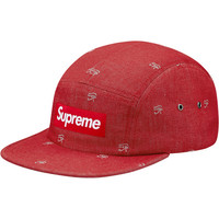 Supreme: Denim Eye Camp Cap - Red