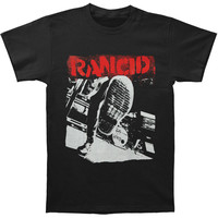 Rancid Men's  HIAWK Boot T-shirt Black