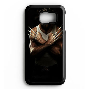 Wolverine In The Dark Samsung Galaxy S4 Galaxy S5 Galaxy S6 Edge Case | Note 3 Note 4 Note 5 Case