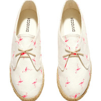 H&M Lace-up espadrilles £12.99