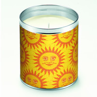 Mosaic Sunshine Candle