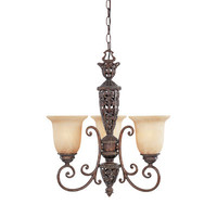 Designers Fountain Amherst 3 Light Chandelier