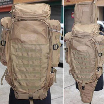 DCCK7N3 Outdoor Sports Molle Tactical Airsoft Paintball Rifle M4 Carbine Shotgun Bag Hunting Gun Backpack