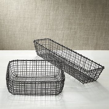 Bendt Iron Serving Baskets