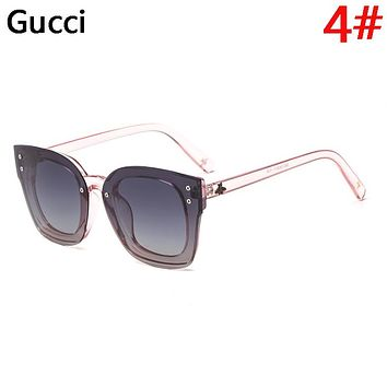 GUCCI Fashion New Polarized Couple Travel Sunscreen Leisure Eyeglasses Glasses
