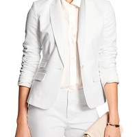 Banana Republic Womens Factory Sleek Blazer