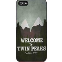 welcome to twin peaks  For iPhone 5/5S Case *AR*