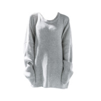 Oversized Ribbed Easy Pullover