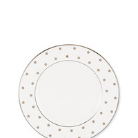 Kate Spade Larabee Road Platinum Salad Plate Ivory ONE