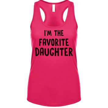 I'm The Favorite Daughter Women's Tank